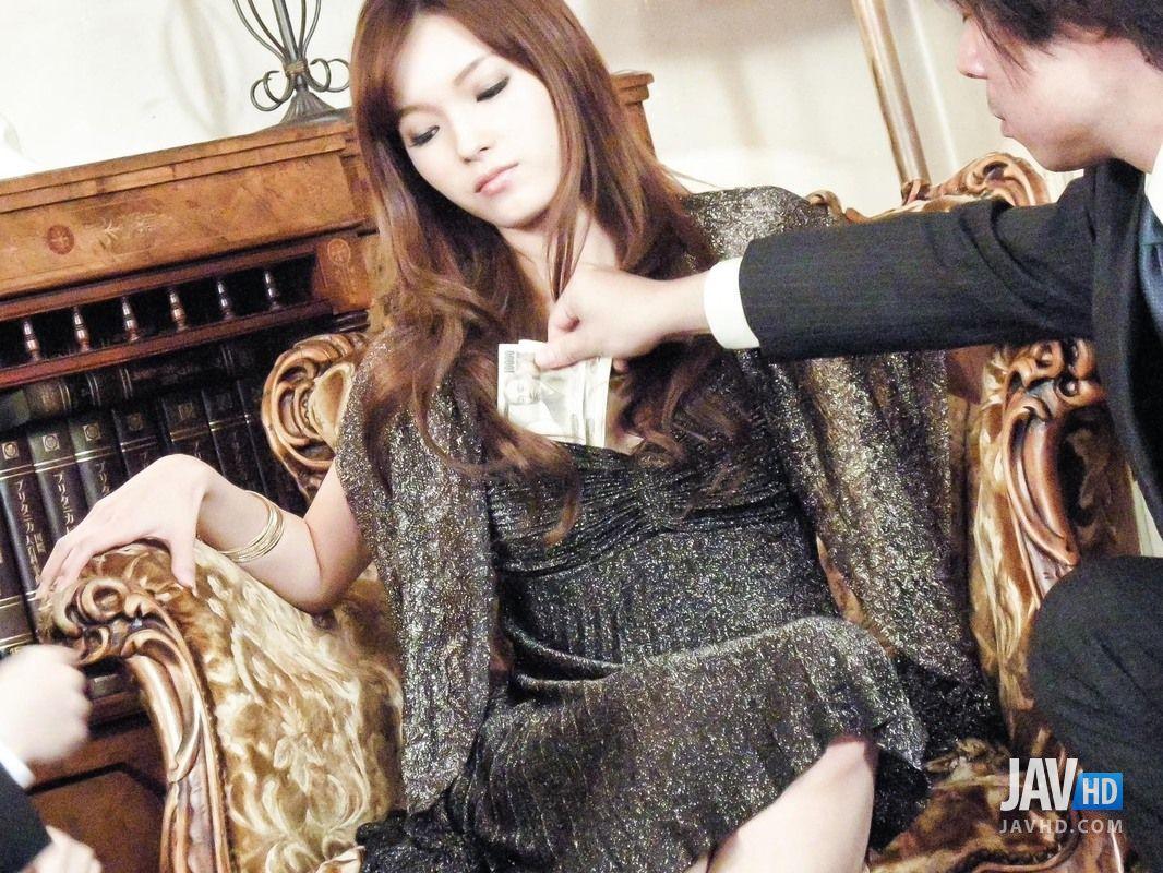 Mei Haruka MMF Threesome Pics