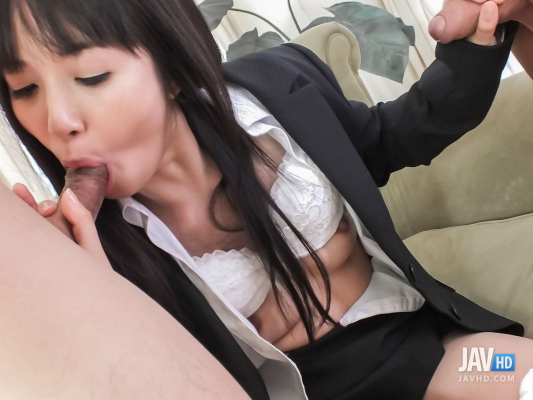 Creampie After BJ And Pussy Fucking For Kotomi Asakura