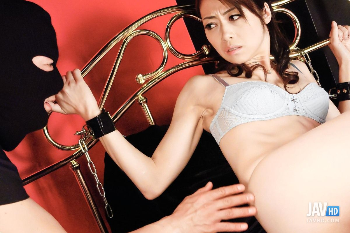 Mei haruka is tied in ropes and fucked in mouth and pussy 10