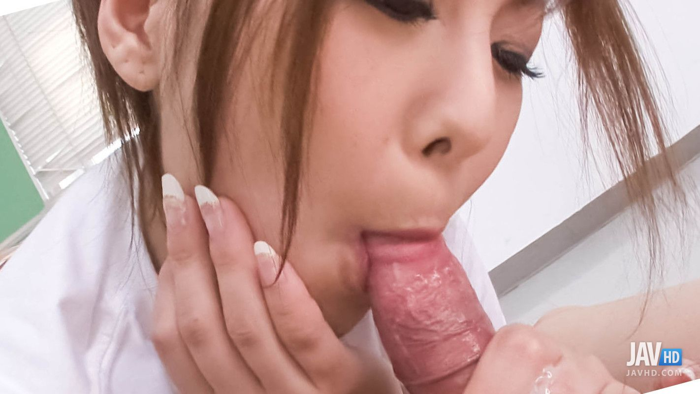 Miku Airi Gives A Nice Footjob And Sucks Dick For Sperm