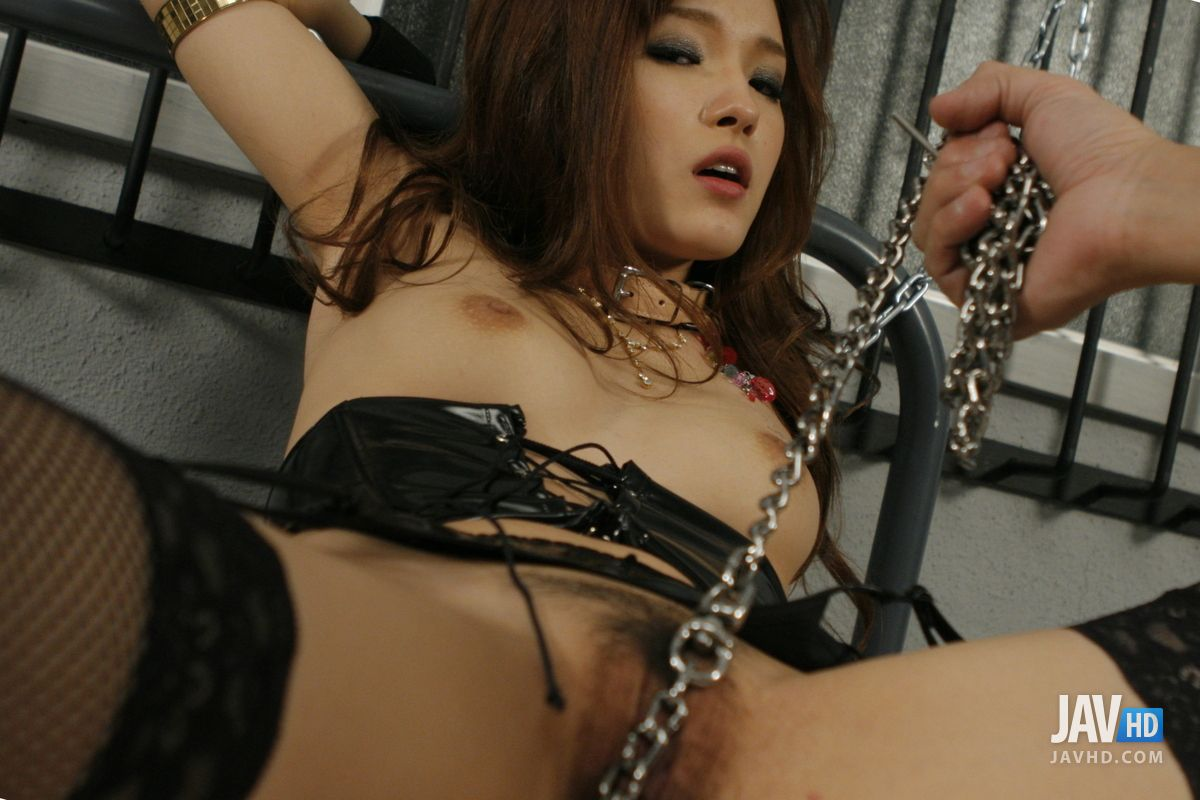 Naughty Mei Haruka Chained In A Cell And Fucked Hard