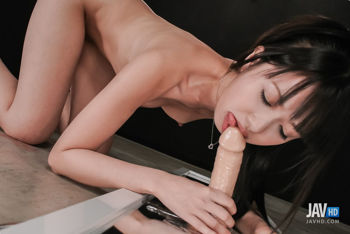 Arisa nakano brings a dildo in the bath with her 10